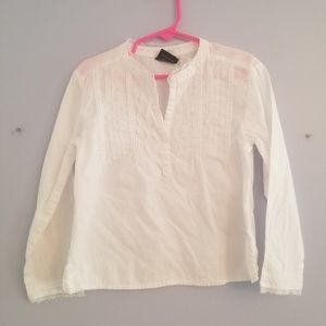 Childrens place White long sleeve top